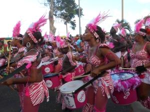 … participé au carnaval de Martinique. Waow!