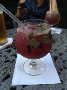 Blueberry Mojito. Plus efficace qu'une aspirine.